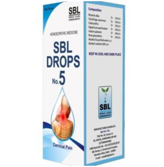 SBL Drops No. 5 (for Cervical Pain)