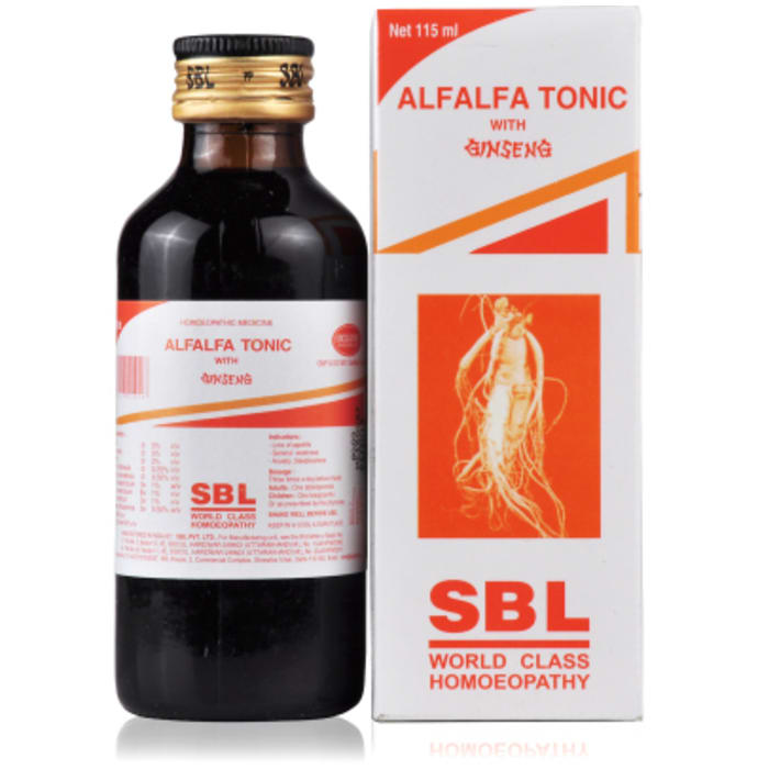 SBL Alfalfa Tonic with Genseng