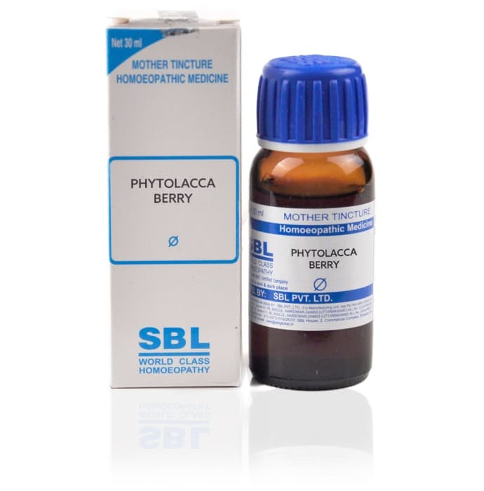 SBL Phytolacca Berry Mother Tincture Q