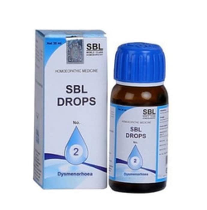 SBL Drops No. 2 (for Dysmenorrhoea)