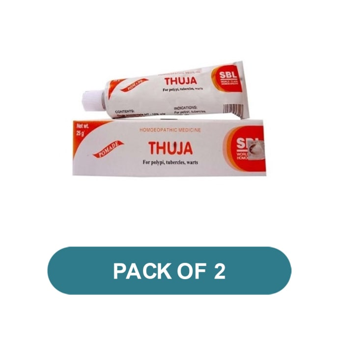 SBL Thuja Ointment Pack of 2