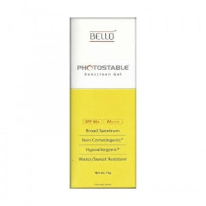 Photostable Spf 40+ Sunscreen Gel
