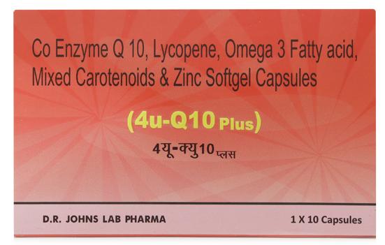 4U Q10 Plus Softgel Capsule
