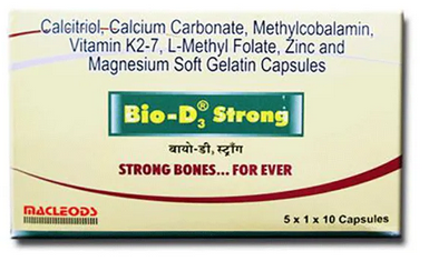 Bio-D3 Strong Capsules