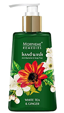 Morpheme Remedies Anti Bacterial Hand Wash - White Tea & Ginger 250 ml