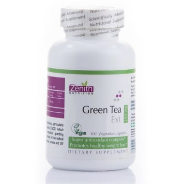 ZENITH NUTRITION GREEN TEA EXTRACT 250MG CAPSULE
