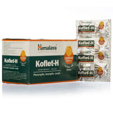 Himalaya Koflet-h Lozenges Orange
