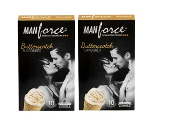 Manforce Condom Butterscotch Pack Of 2