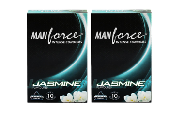 Manforce Intense Condom Jasmine Pack Of 2