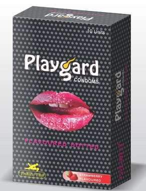PLAYGARD STRAWBERRY CONDOM