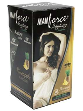 MANFORCE STAYLONG CONDOM PINEAPPLE