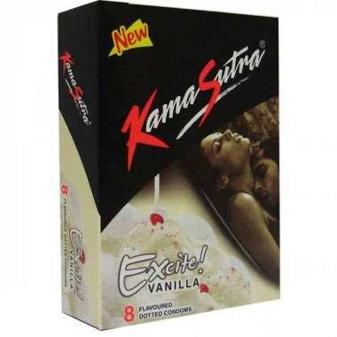 Kamasutra Excite Condom Vanilla