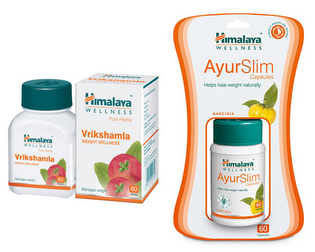 Himalaya Weight Management Combo Pack (ayurslim 60 Capsules & Vrikshamla 60 Tablets)