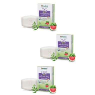 Himalaya Refreshing Baby Soap (pack Of 3)