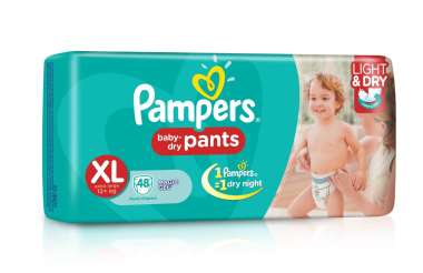 Pampers Baby Dry Pants Diaper Xl