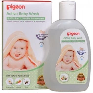 Pigeon Active Baby Wash