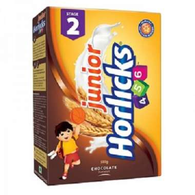 Horlicks Junior Stage 2 Refill Pack Powder Chocolate