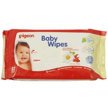 Pigeon Baby Wipes, Chamomile+rosehip Refill Pack