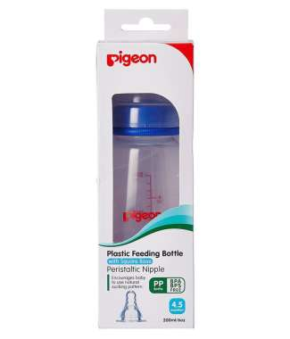 Pigeon Peristaltic Nursing Bottle Kpp M Blue