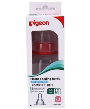 Pigeon Peristaltic Nursing Bottle Kpp S Red
