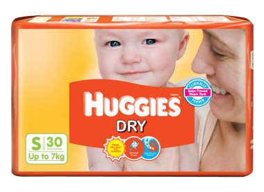 Huggies Dry Diaper S