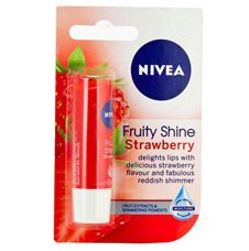 Nivea Fruity Shine Strawberry Lip Balm 4.8gm