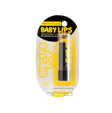 Maybelline Baby Lips Spf20 Lip Balm Lemon Flavor Fierce N Tangy