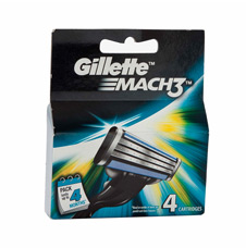 Gillette Mach 3 Cartridges 4's
