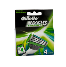 GILLETTE MACH 3 SENSITIVE CARTRIDGES 4'S
