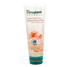 Himalaya Herbals Deep Cleansing Apricot Face Wash (prevents Blackheads) 100ml