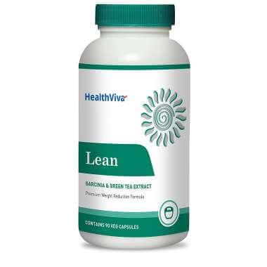 Healthviva Lean (garcinia & Green Tea), Veggie Capsule(s) Unflavoured