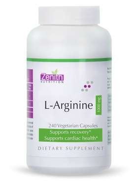 Zenith Nutrition L-arginine 1000mg Capsule