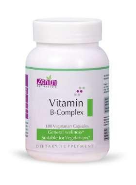 Zenith Nutrition Vitamin B-complex Capsule