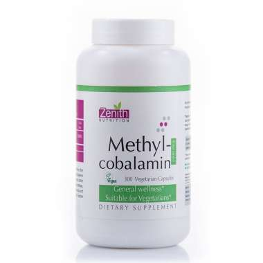 Zenith Nutrition Methylcobalamin 1000mg Capsule