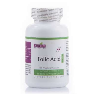 Zenith Nutrition Folic Acid 2mg Capsule