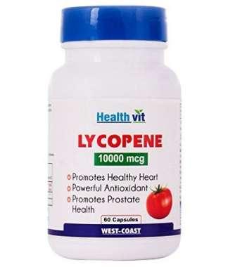 Healthvit Lycopene 10000mcg Capsule