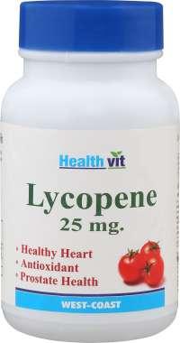 Healthvit Lycopene 25mg Tablet