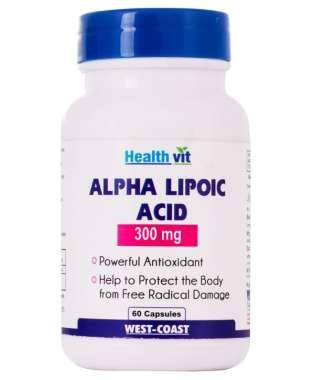 Healthvit Alpha Lipoic Acid 300mg Capsule