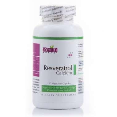 Zenith Nutrition Resveratrol & Calcium Capsule