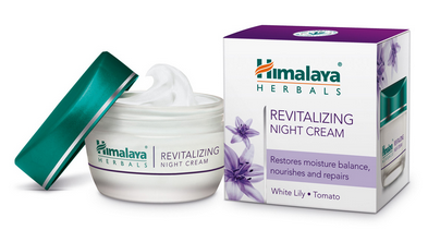 Himalaya Revitalizing Night Cream 50g(glass Cont)
