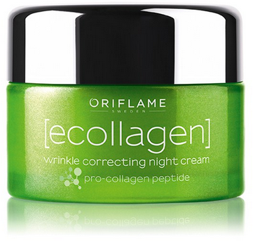 Oriflame Ecollagen Wrinkle Correcting Night Cream 50ml