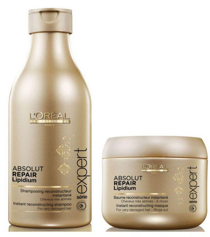 L'oreal Professional Absolut Repair Lipidium Shampoo + Conditioner 230 Ml