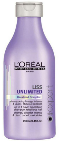 Loreal Imported Loreal Liss Unlimited Shampoo Shampoo 250 Ml