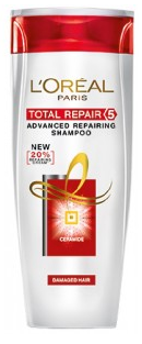 L'oreal Paris Total Repair 5 Shampoo 175 Ml