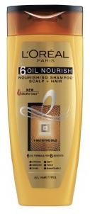 L'oreal Paris 6 Oil Nourish Shampoo 75 Ml