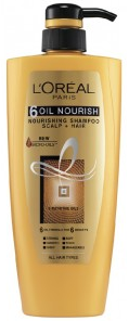 L'oreal Paris 6 Oil Nourish (nourishing Shampoo Scalp + Hair)