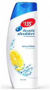 Head & Shoulders Anti Dandruff Lemon Fresh Shampoo 180 Ml