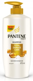 Pantene Pro-v Total Damage Care Shampoo 675 Ml