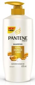 Pantene Pro-v Total Damage Care Shampoo 675 Ml