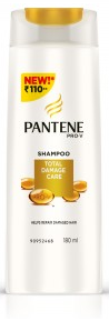 Pantene Pro-v Total Damage Care Shampoo 180 Ml